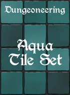 *Dungeoneering Presents* Aqua Tile Set