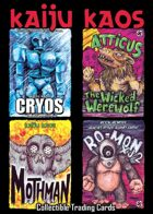 Kaiju Kaos: Collectible Trading Cards, Set 01