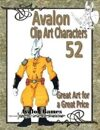 Avalon Clip Art Characters, Alien 12
