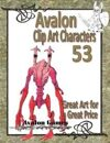 Avalon Clip Art Characters, Alien 13
