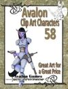 Avalon Clip Art Characters, Alien 16