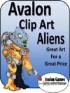 Avalon Clip Art, Aliens