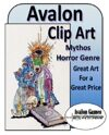 Avalon Clip Art, Mythos Horror