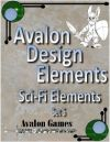 Avalon Design Elements, Sci-Fi Set #5
