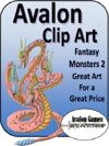 Avalon Clip Art Sets, Monsters 2