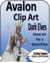 Avalon Clip Art Sets, Dark Elves