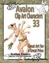 Avalon Clip Art Characters, Alien 5