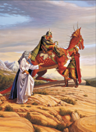 Larry Elmore's Children of Drake Poker Deck