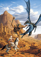 Larry Elmore's Desert Battle Poker Deck