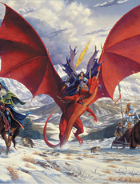 Larry Elmore's Dragon Pass Poker Deck