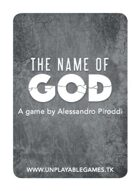 The Name of God [POL Poker Size]