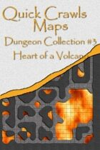 Quick Crawls Maps - Dungeon Collection #3, Heart of a Volcano