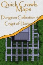 Quick Crawls Maps - Dungeon Collection #4, Crypt of Darkness