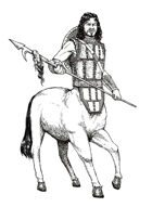Stock Art Male Centaur