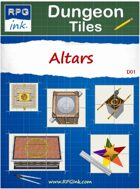 Dungeon Tiles - D01 - Altars