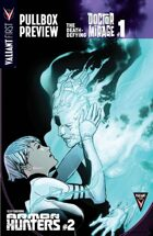 Valiant First Pullbox Preview: The Death-Defying Doctor Mirage #1