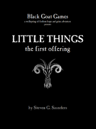 Little Things: The First Offering