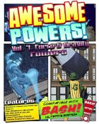 Awesome Powers Vol. 4 Force & Gravity Powers