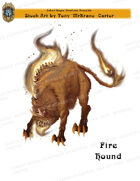 CSC Stock Art Presents: Fire Hound