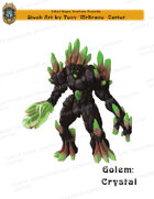 CSC Stock Art Presents: Golem Crystal
