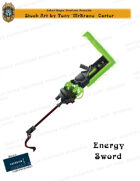 CSC Stock Art Presents: Energy Sword