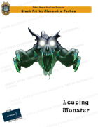 CSC Stock Art Presents: Leaping Monster