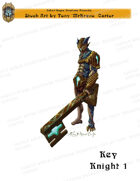 CSC Stock Art Presents: Key Knight 1