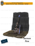 CSC Stock Art Presents: Demon Axe