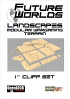 "Future Worlds Landscapes:  1"" Cliff Set"
