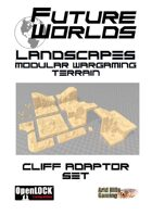 Future Worlds Landscapes:  Cliff Adaptor Set