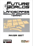 Future Worlds Landscapes:  River Set