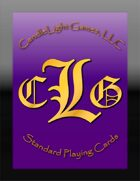 CandleLight Games Poker Cards (Purple)