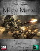 Complete Mecha Manual  [BUNDLE]