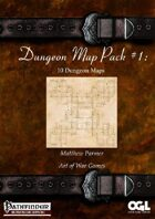 Dungeon Map Pack #1: 10 Dungeon Maps