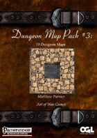 Dungeon Map Pack #3: 10 Dungeon Maps