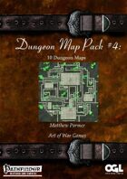 Dungeon Map Pack #4: 10 Dungeon Maps