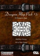 Dungeon Map Pack #5: 10 Dungeon Maps