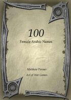 100 Arabic Female Names