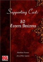 Supporting Cast: Tavern Denizens: 80 NPCs you might meet in a tavern