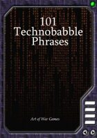 101 Technobabble Phrases