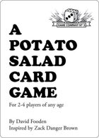 A Potato Salad Card Game