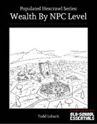 Wealth by NPC Level