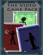 The Video Game Class Pack - A set of three Dungeon World Playbooks