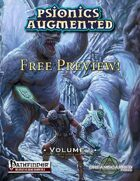 Psionics Augmented Free Preview!