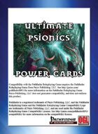 Ultimate Psionics Power Cards
