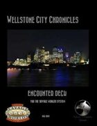 Wellstone City Chronicles - Encounter Deck