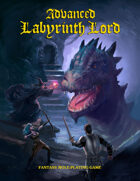 Advanced Labyrinth Lord (Dragon Cover)