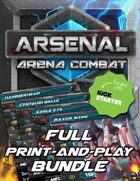 Arsenal - Arena Combat Full Print-and-Play [BUNDLE]