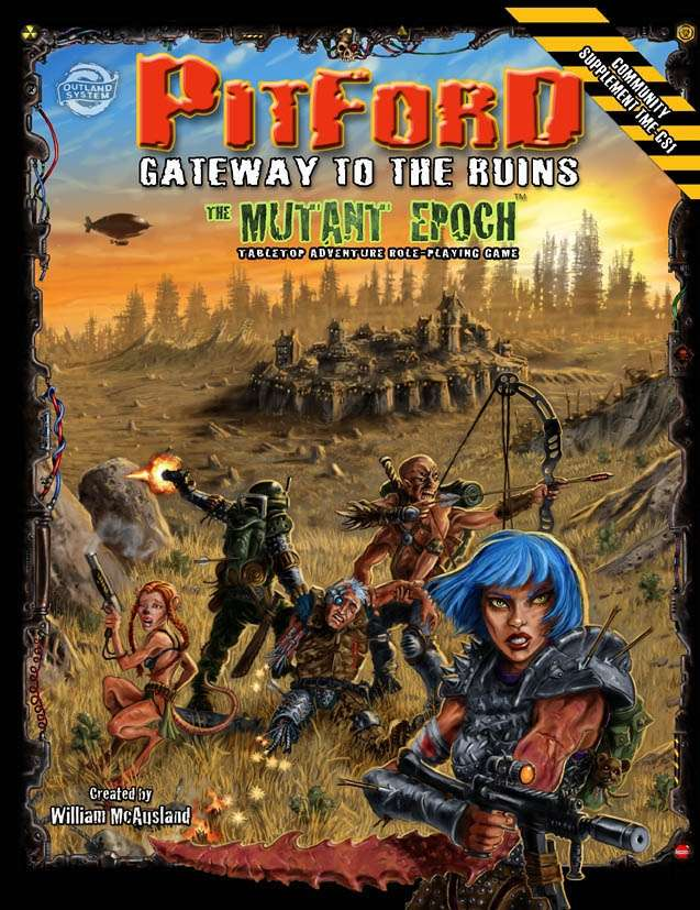 Pitford: Gateway To The Ruins on RPGNow.com