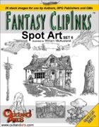Fantasy Clip Inks:: Spot Art Set 6